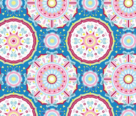 Sweet mandalas fabric by marta_strausa on Spoonflower - custom fabric