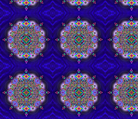 Repeating_Mandala fabric by strad on Spoonflower - custom fabric