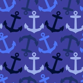 Anchors Aweigh! Nautical Blues