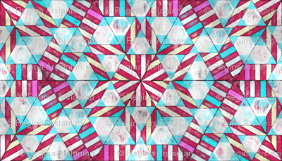 Peppermint Geodesic