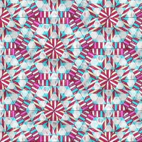 Peppermint Geodesic, Red