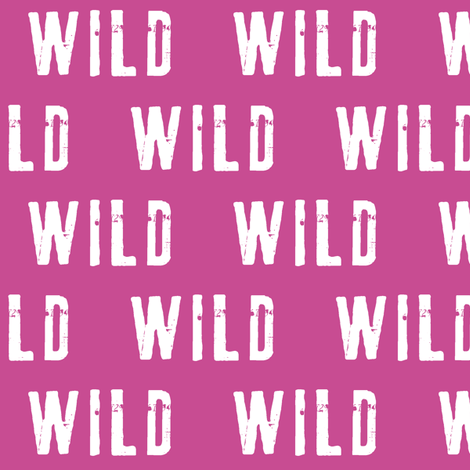 wild (orchid) fabric by littlearrowdesign on Spoonflower - custom fabric
