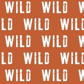 wild (rust orange)