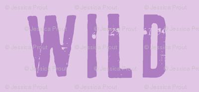 wild -  2 tone purple