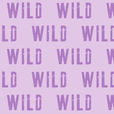 wild -  2 tone purple fabric by littlearrowdesign on Spoonflower - custom fabric