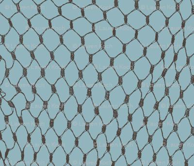 Dark Fishing Net