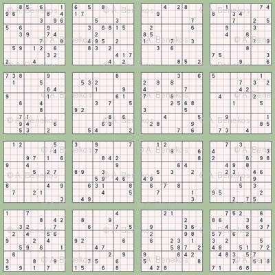 Sudoku - Sage