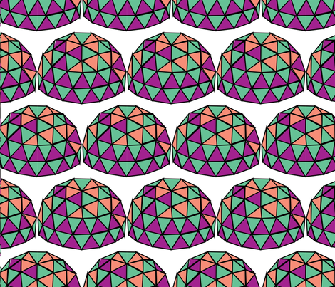 dome-2 fabric by bugs4 on Spoonflower - custom fabric