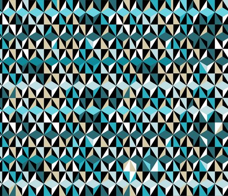 geo uh oh! fabric by abstracthands on Spoonflower - custom fabric