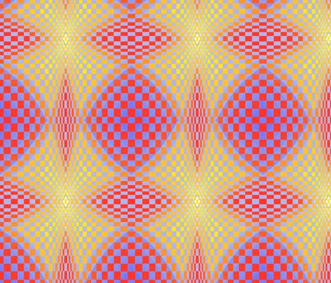 Geodesic_balance fabric by ruthjohanna on Spoonflower - custom fabric