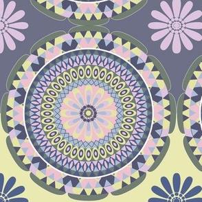 Flower Mandala muted