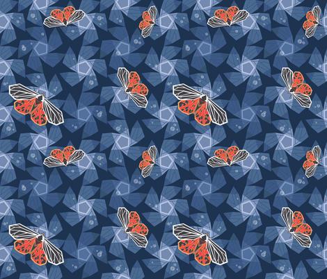 momoth fabric by torysevas on Spoonflower - custom fabric