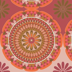 Flower Mandala warmth