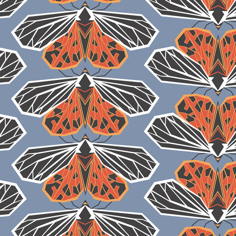 butterflies fabric by torysevas on Spoonflower - custom fabric