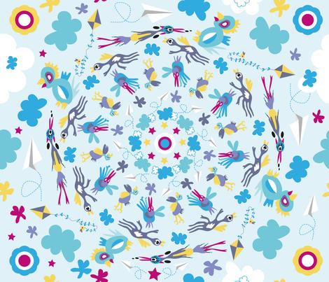 AIR_MANDALA fabric by melluciani on Spoonflower - custom fabric