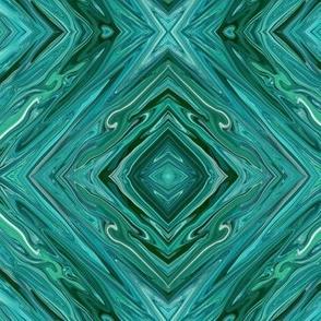 LTG - Liquid Teal Diamonds, small