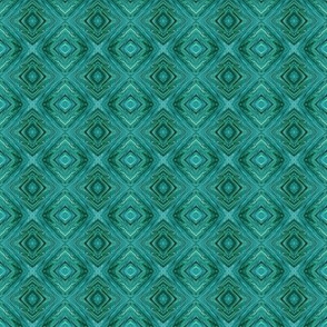 LTG - Liquid Teal Diamond Brocade