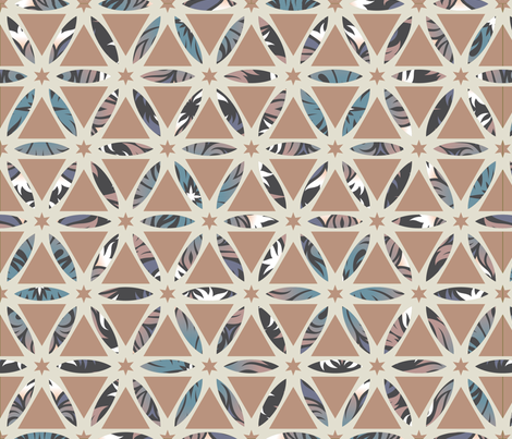 Geodesic fabric by bluecoin on Spoonflower - custom fabric