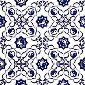 Yin-Yang Blue