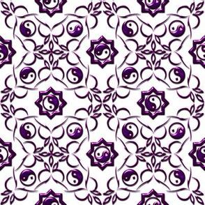 Yin-Yang Purple