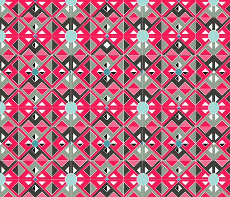 Geodesic Dream fabric by floramoon_designs on Spoonflower - custom fabric