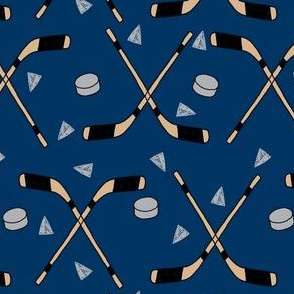 hockey fabric //  hockey sports fabrics hockey sport ice hockey kids fabric  - navy