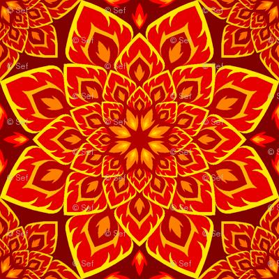 06205742 : S84 fire mandala : red peril