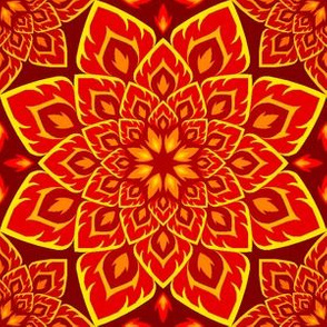 06205742 : S84 fire mandala : red peril