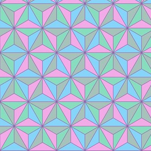 Iridescent Geodesic