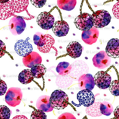 Geodesic Cherries - © Lucinda Wei