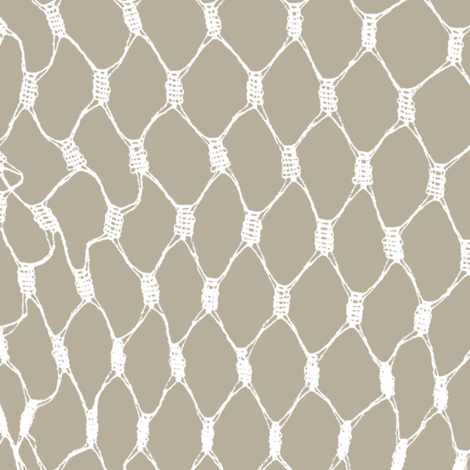 Fishing Net on Dirt fabric by buckwoodsdesignco on Spoonflower - custom fabric
