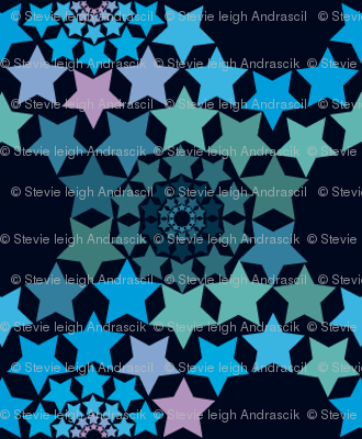 Geodesic in the Stars