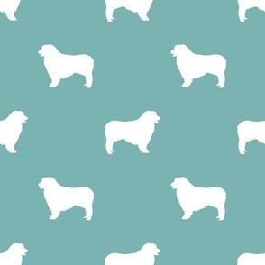 Australian Shepherd silhouette dog breeds  gulf blue
