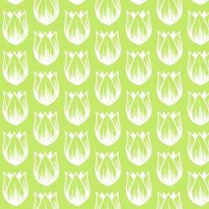 Doodle Tulip (Spring Green)
