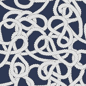 Nautical Rope Knots in Navy