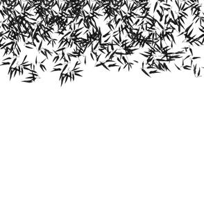 Bamboo Black and White