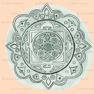 Mandala Polka Dots