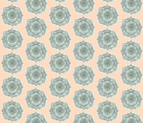 Mandala Polka Dots fabric by woolandbristle on Spoonflower - custom fabric