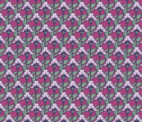 Rred_flower_-_doodle_flower_repeat__cabbage_hues_b__shop_preview