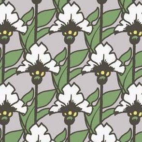 Flowerin' - Silver