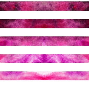 Watercolor Pink Stripe