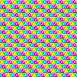 Rainbow Geodesic