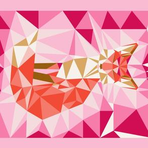 tea_towel_fox_geodesic_lin_coton