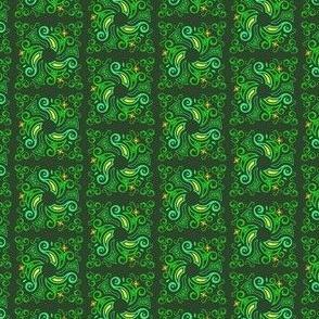 Celtic square - green