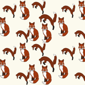 Foxes cream