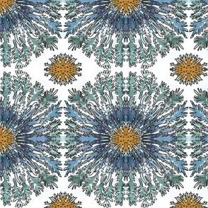 Cornflower Mandala