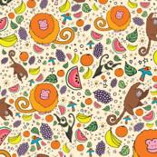 Monkeys and Fruit