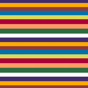 Tuscan stripes- SMALL