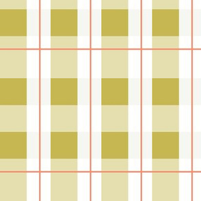 Checker in yellow