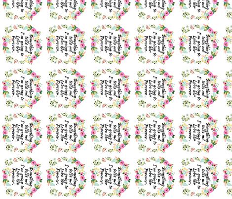 "4"" Something Tells Me fabric by shopcabin on Spoonflower - custom fabric"